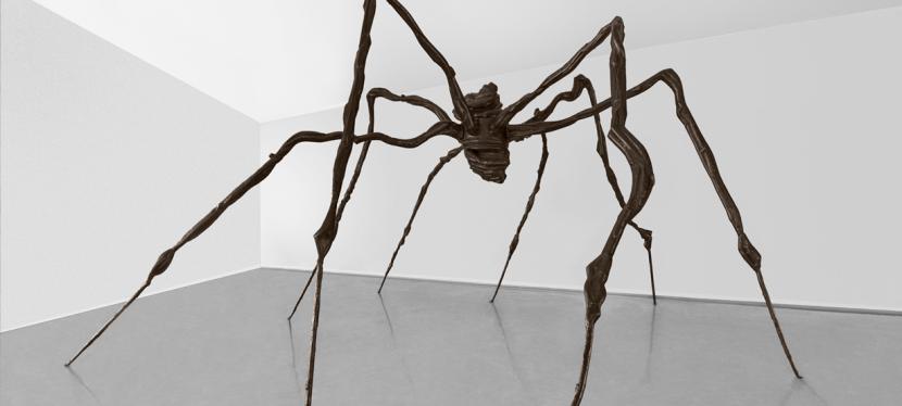 """""""Aranha"""", de Louise Bourgeois, na Fundação IberêCamargo"""