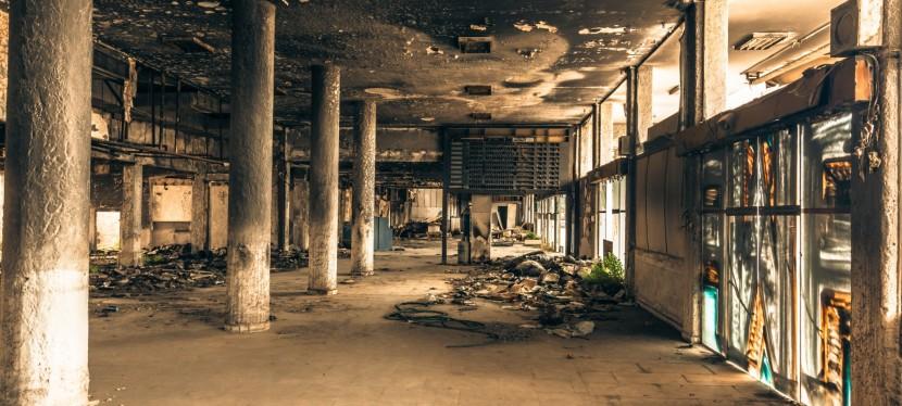 Este aeroporto abandonado é digno de um filme pós-apocalíptico