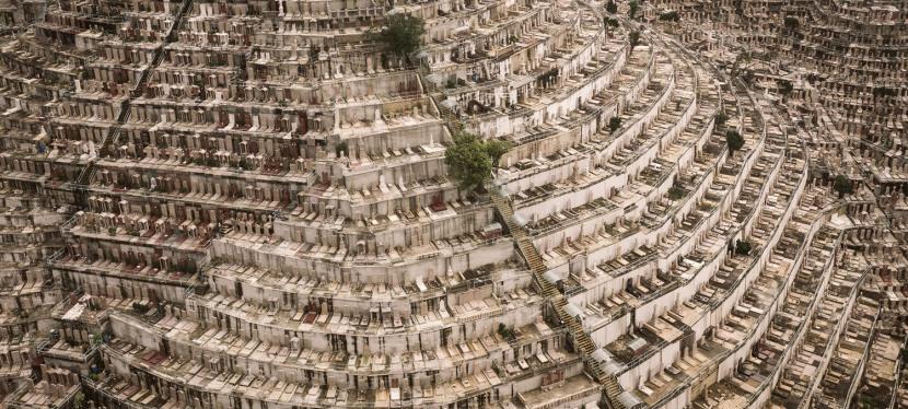 O incrível cemitério vertical de HongKong